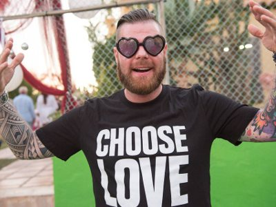 Choose Love: fundraising in Ibiza
