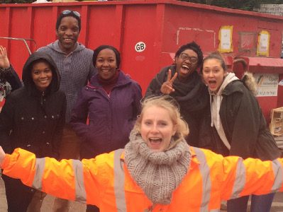 Help Refugees' volunteers in Calais