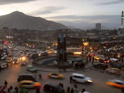 Kabul, the capital of Afghanistan.