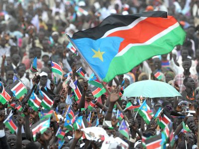 South Sudan was made an independent nation in 2011.