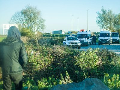 Refugee crisis Calais