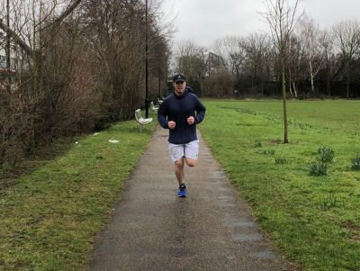 London Marathon training 2018