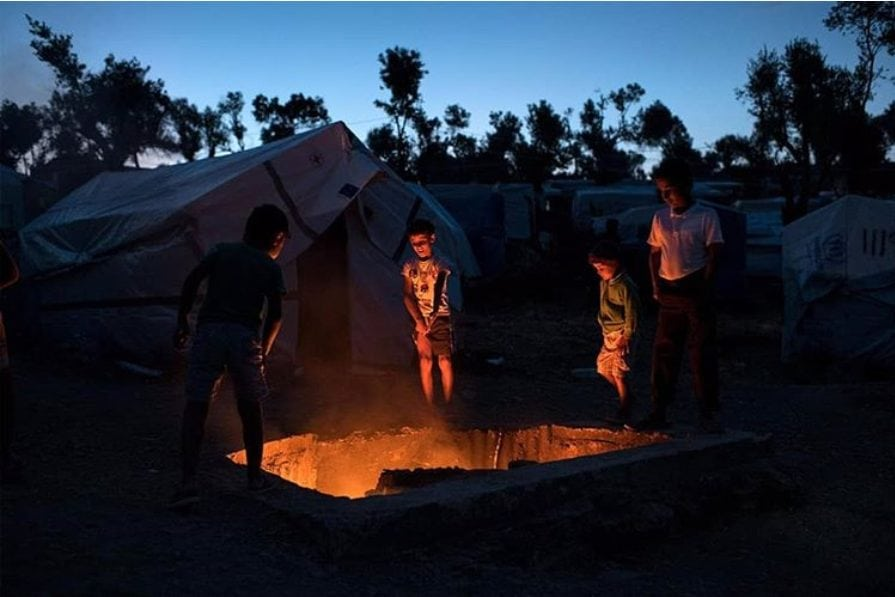 Help Refugees - Moria - Europe's shame