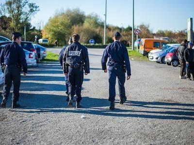 Calais Volunteer Intimidation