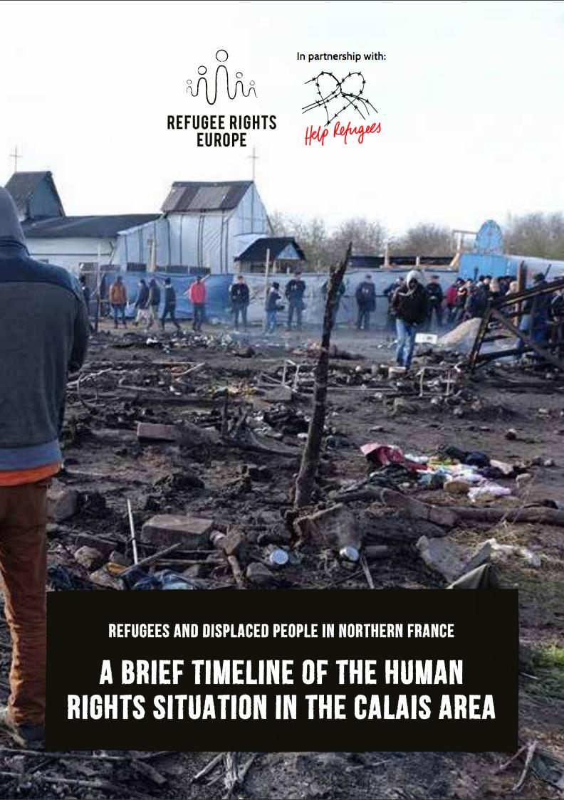 Calais Refugee Crisis: A Brief Timeline