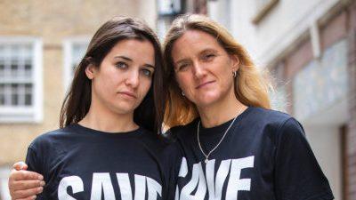 Kim and Waad - Save Idlib campaign