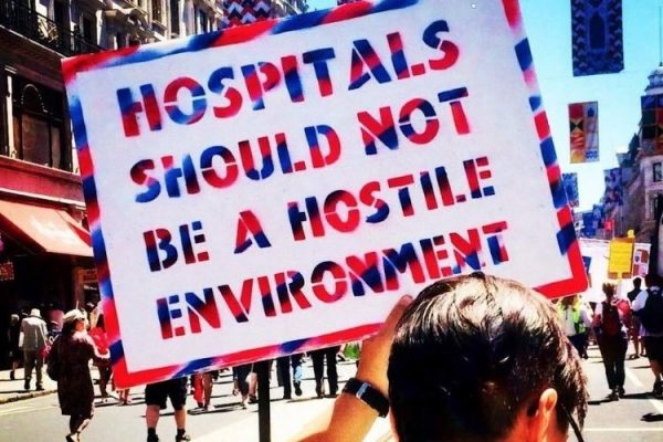 Hospitals should not be a hostile environment