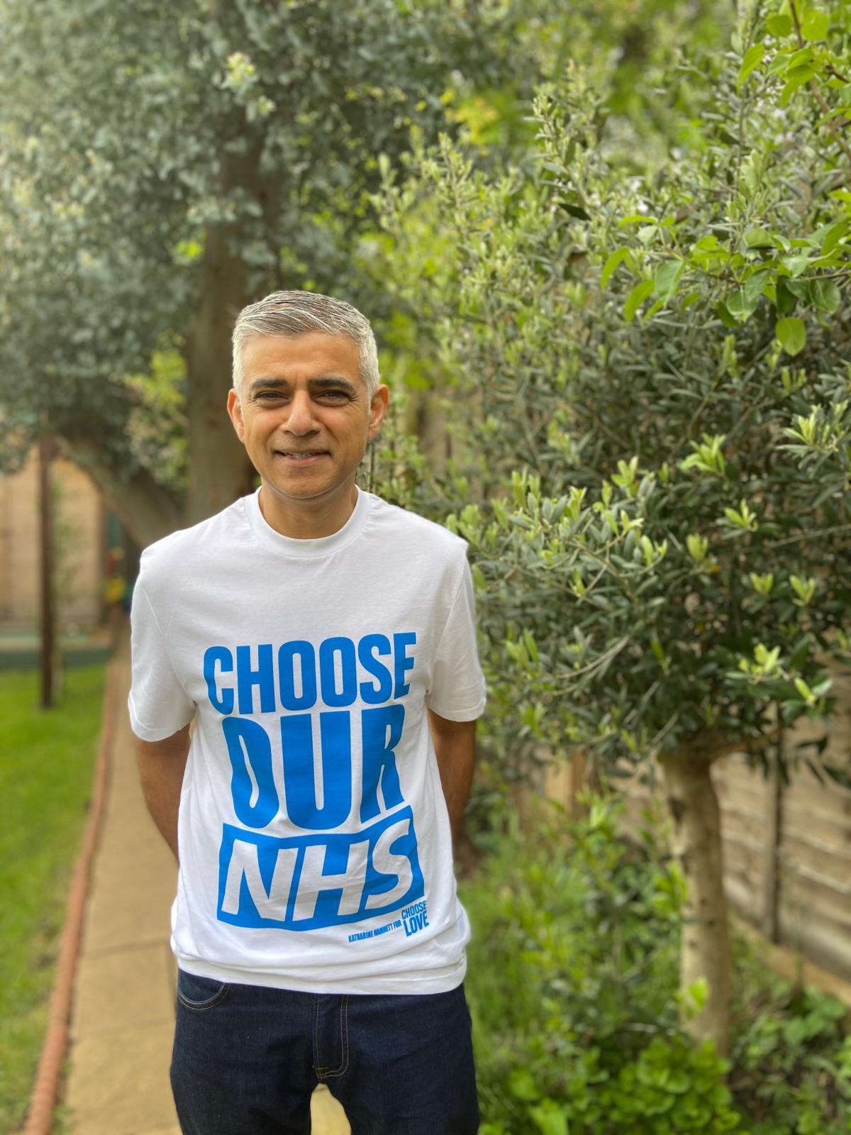 Choose Our NHS - Sadiq Khan