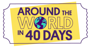 Around the World in 40 Days logo