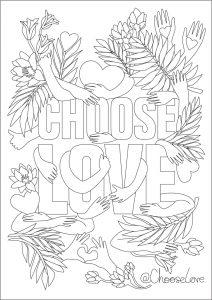 Choose Love Drawing