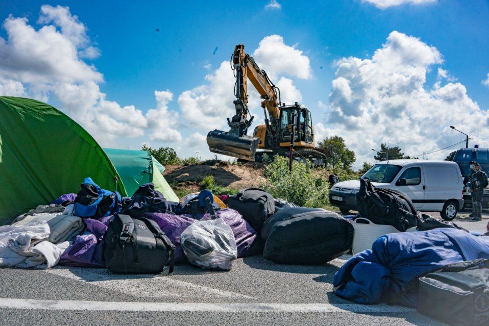 Eviction in Calais France