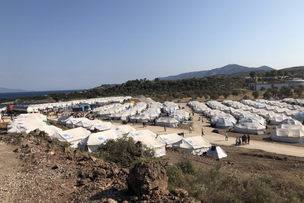 Moria 2.0 on the Greek island of Lesvos