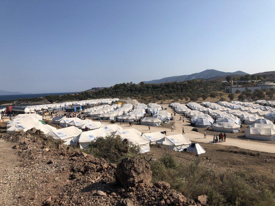 Moria 2.0 on the Greek island of Lesvos