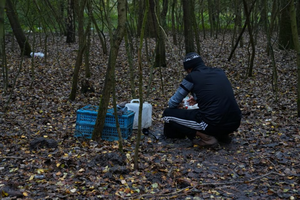 Conditions in Calais