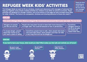 Refugee Week activity pack